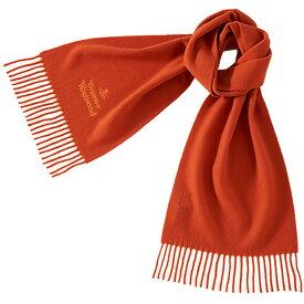 ヴィヴィアンウエストウッド Vivienne Westwood クラシック メンズマフラー オレンジ 橙
