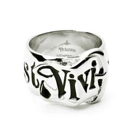 ヴィヴィアンウエストウッド Vivienne Westwood 指輪 SR001/1 BELT RING ベルト リング レディース メンズ SILVER シルバー+ブラック XXS XS S M L XL