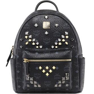 MCM backpack emciem backpack MMK6SVE19 back SMALL STARK BACKPACK small stark backpack S Black BLACK black