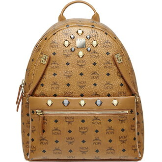 MCM backpack emciem bag 2-way Backpack MMK6SVE79 MEDIUM DUAL STARK BACKPACK medium stark backpack dual M Cognac COGNAC camel