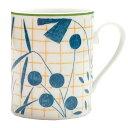 エルメス 食器 マグ HERMES 043031P A WALK IN THE GARDEN ウォーク イン ザ ガーデン マグカップ 単品 ブルー+イエロー+グリーン系…
