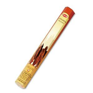ヘム HEM スティック CINNAMON シナモン 1箱 約20本入り 単品 インド香 インセンス ヘキサ 六角 ヘクサ