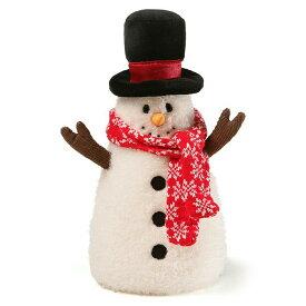 ガンド GUND フロストスノーマン 4059080 雪だるま クリスマス ハット マフラー ぬいぐるみ グッズ 人形 キッズ ベビー おもちゃ ギフト プレゼント 新品
