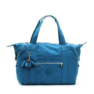 Kipling Boston bag shoulder bag travel bag ladies mens shoulder 2-WAY new blue MITCHELL BLUE light nylon popular brand fs2gm