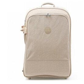 キプリング kipling キャリーバッグ キャリーバック 海外旅行 スーツケース 超軽量 tsaロック 旅行用 レディース ブランド ナイロン 新品 正規品 K15032 828 YUBIN 76 ベージュ