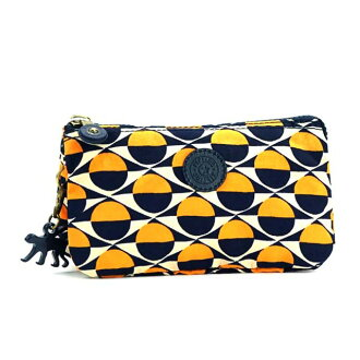Kipling Kipling K13188 82 W pouch CREATIVITY L BPC P MLT multimedia Yellow Navy