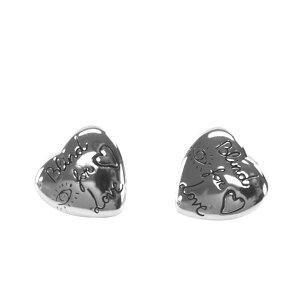 グッチ GUCCI ピアス 455255 J8400 0701 BLIND FOR LOVE STUD EARRINGS WITH HEART MOTIF ブラインド フォー ラブ スタッド イヤリング ウィズ ハート モチーフ シルバー