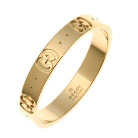 グッチ GUCCI アイコン リング イエローゴールド 073230 09850 8000 K18YG icon 指輪 レディース 女性 メンズ 男性 ユニセックス ギフト 父の日プレゼント バレンタインデー ホワイトデー 新品