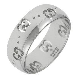 グッチ GUCCI アイコン リング ホワイトゴールド 246470 J8500 9000 K18WG icon 指輪 レディース 女性 メンズ 男性 ユニセックス ギフト プレゼント バレンタインデー ホワイトデー 新品