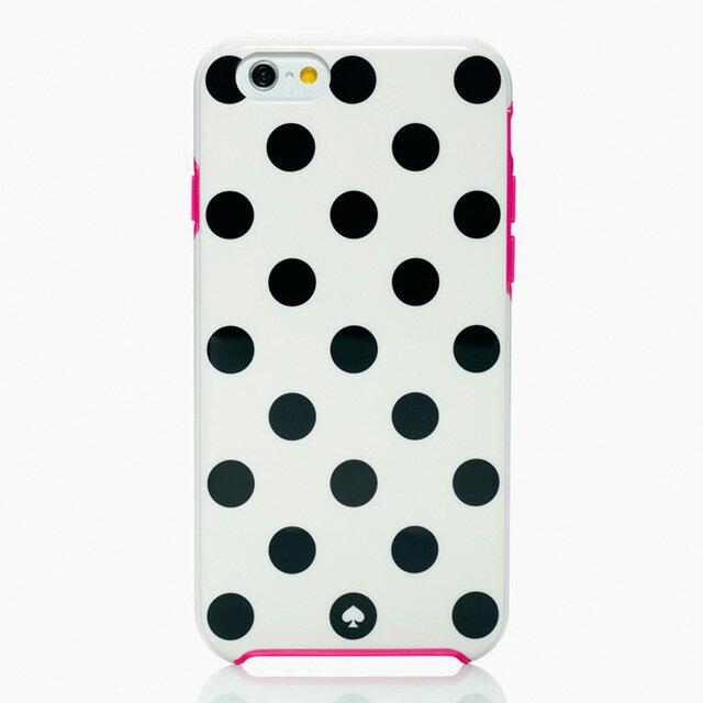 ケイト・スペード kate spade NEW YORK ケイトスペード IPHONE 6 6s ケース アイフォン6 アイフォン6sケース ル ル パヴィリオン RESIN IPHONE CASE 6 LE PAVILLION 6 ホワイト ブラック ピンク ブランド 女性 新作