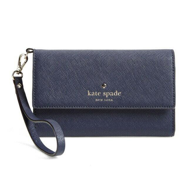 ケイト・スペード kate spade NEW YORK 8ARU1099 574 iPhone 6 iPhone 6s leather wristlet シーダーストリート アイフォン6ケース アイフォン6sケース ディスコ・パープル(ネイビー系) iPhone6ケース アイフォンケース アイフォン6ケース ブランド 女性 新作