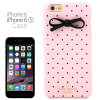 Kate spade kate spade NEW YORK resin iPhone 6 / 6s case tiny gold dot bow small dots and Ribbon RESIN IPHONE 6 CASE TINY GOLD DOT BOW pink PINK iPhone 6 case iPhone case iPhone case 6 brand-new women