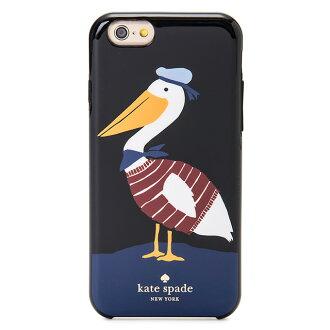 凯特·黑桃kate spade NEW YORK凯特黑桃IPHONE 6 6s情况iPhone 6 iPhone 6s情况鹈鹕IPHONE CASES PELICAN-6鹈鹕黑色名牌女性新作品D-LF