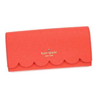 케이트 스페이드 뉴욕 kate spade NEW YORK 지갑 여성용 레드 핑크 계 + 핑크 가죽 브랜드 신작 지갑 CINDY LILY AVENUE 신품