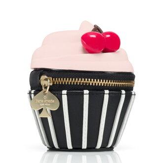 케이트 스페이드 뉴욕 kate spade NEW YORK 「 매 그 놀 리아 베이커리 」 코 라 보 시리즈 컵 케이크 형 동전 지갑 동전 지갑 신작 화이트 데이 생일 선물 컵 케이크 마 그 놀 리아 베이커리 여성 브랜드 스위트 동전 지갑 깜 찍