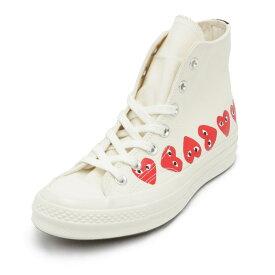 コムデギャルソン COMME des GARCONS スニーカー シューズ 靴 AZ-K116 コンバースコラボハイカットスニーカー PLAY×Converse Chuck Taylor All Star プレイ コンバース OFF WHITE オフホワイト