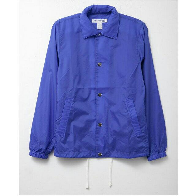 コムデギャルソン COMME des GARCONS SHIRT ナイロン ジャケット アウター メンズ S24923B ブルー ジャケット メンズ ロゴ おしゃれ 半袖 オシャレ ブランド