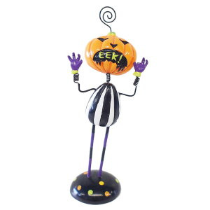 ジーティーエス GTS パンプキン メモホルダー GTS-0690 ハロウィン かぼちゃ オレンジ+パープル+ブラックマルチ