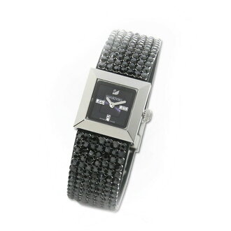 Swarovski watch Lady's new work brand new article sale popularity jewelry watch black silver fs3gm