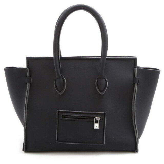 SAVE MY BAG セーブマイバッグ PORTOFINO LYCRA A4収納 ビジネス ハンドバッグ ブラック/NERO トートバッグ 大きめ ショルダーバッグ レディース バッグ ブランド イタリア製 正規品 新品 プレゼント 女性