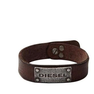 DIESEL diesel bracelet leather men accessories