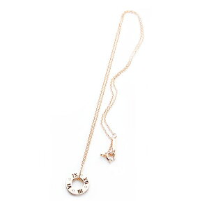 TIFFANY(ティファニー) ネックレス アトラス ペンダント スモール ダイヤモンド 18K ローズゴールド ダイアモンド