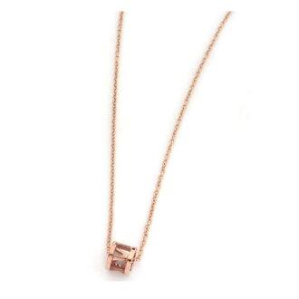 Tiffany's TIFFANY Atlas necklace women's ATLAS open pendant mini 16 in 18R rose gold 32803059