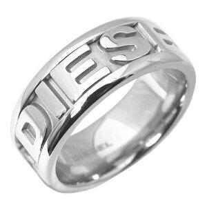 ディーゼル DIESEL リング 指輪 メンズ レディース ロゴ シルバー DX0050040 ステンレス シンプル ブランド 父の日プレゼント ギフト バレンタイン ホワイトデー クリスマス