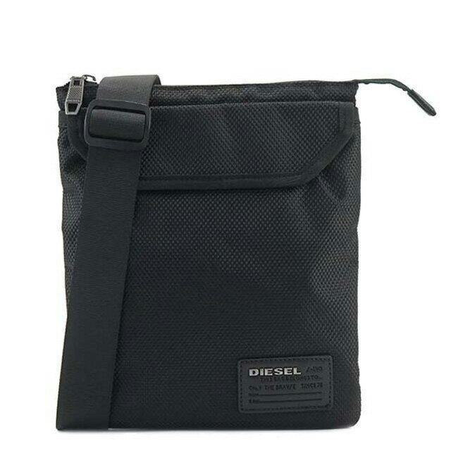 ディーゼル DIESEL バッグ X04327 PR027 T8013 F-CLOSE BACK 斜めがけショルダーバッグ BLACK 黒