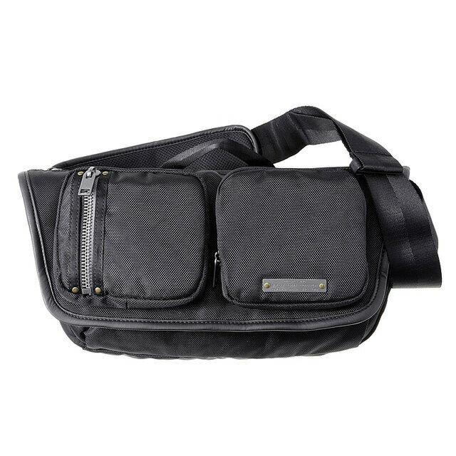 ディーゼル DIESEL バッグ X03783 P0881 H1669 斜めがけショルダーバッグ ボディバッグ ワンショルダー BLACK/BLACK ブラック