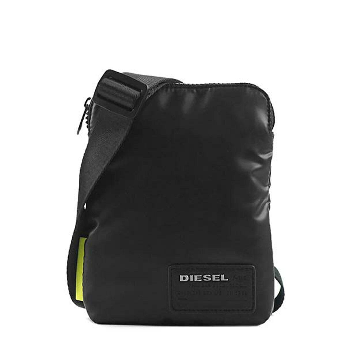 ディーゼル DIESEL バッグ X04815 P1157 T8013 F-DISCOVER SMALLCROS 斜めがけバッグ ミニショルダー BLACK ブラック/ブルー