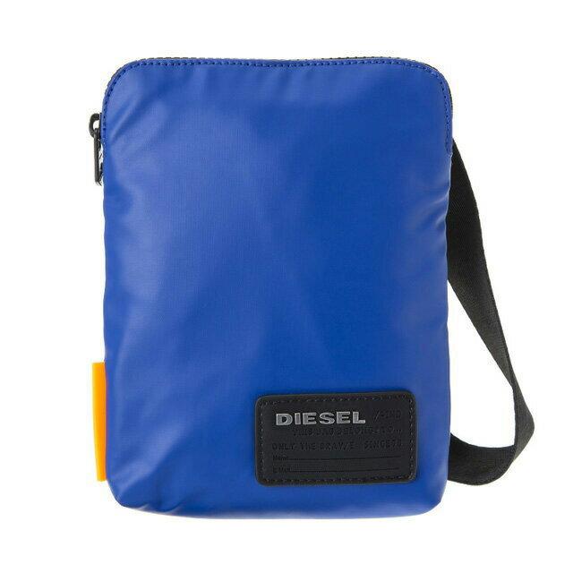 ディーゼル DIESEL バッグ X04815 P1157 T6050 斜めがけバッグ ミニショルダー SURF BLUE ブルー+ブラック