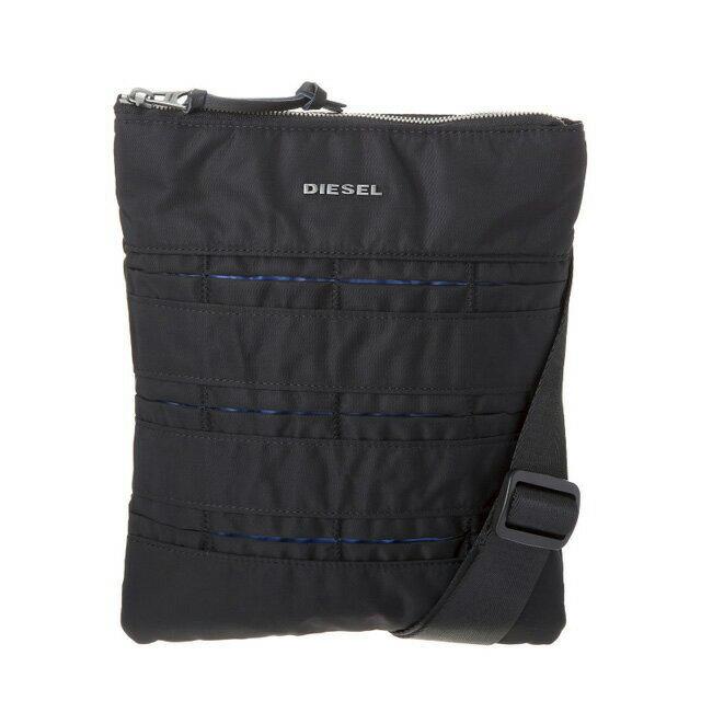 ディーゼル DIESEL バッグ X04819 PR886 H1146 斜めがけバッグ ミニショルダー BLACK/BLUE ブラック+ブルー