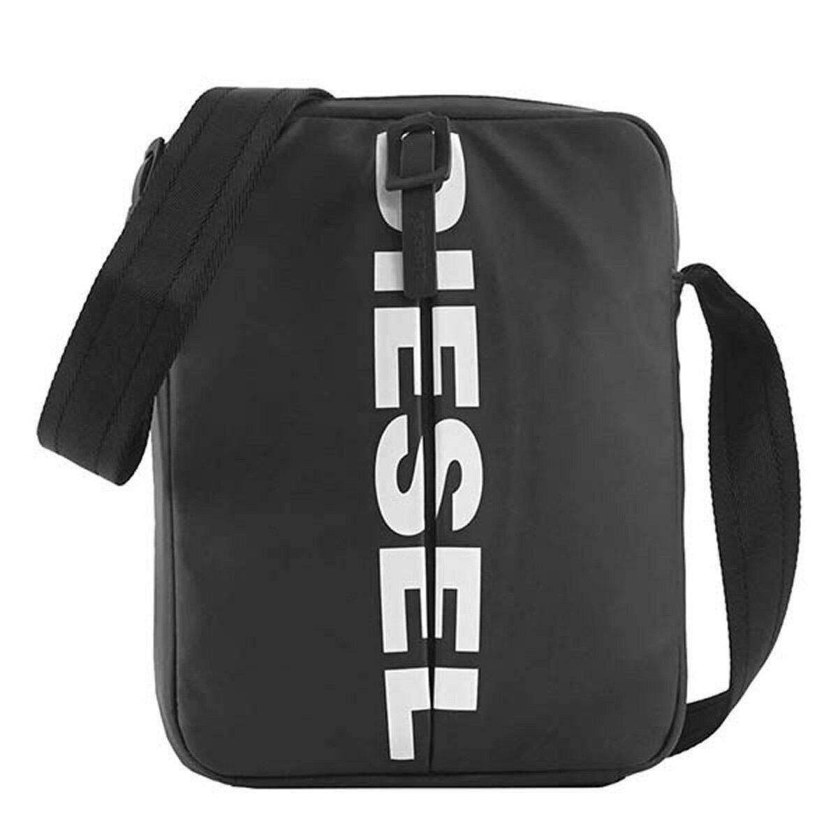 ディーゼル DIESEL バッグ X05478 P1705 T8013 F-BOLD SMALL CROSS 斜めがけバッグ ショルダーバッグ スモール BLACK ブラック