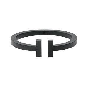 ティファニー TIFFANY&CO Tiffany T スクエア ブレスレット バングル ブラック ブラックコーディング レディース 女性 メンズ 男性 ユニセックス ギフト 母の日プレゼント 新品