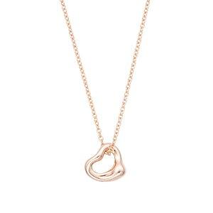 ティファニー TIFFANY&CO 60957436 エルサ・ペレッティ オープンハート ペンダント ローズゴールド ネックレス レディース 女性 ギフト 母の日プレゼント 新品