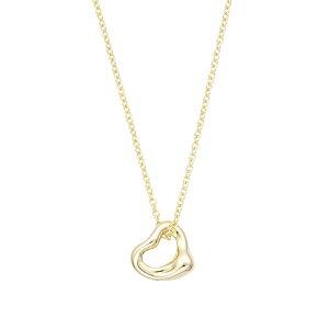 ティファニー TIFFANY&CO 60957401 エルサ・ペレッティ オープンハート ペンダント ネックレス イエローゴールド K18YG レディース 女性 ギフト 母の日プレゼント バースデー ホワイトデー 新品