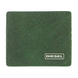ディーゼル DIESEL カードケース X03345 P0517 H5429 スリム クレジットカードケース 名刺入れ グリーン系+ブラック