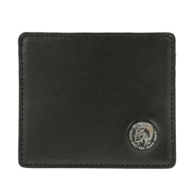 ディーゼル DIESEL カードケース X03377 P0877 H5926 スリム クレジットカードケース 名刺入れ ブラック+ライトブラウン系