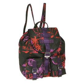 ディーゼル DIESEL リュックサック X03896 PR390 H5983 FA MHAYA バックパック BLACK/POPPY RED ブラック+レッド+ピンク+パープル
