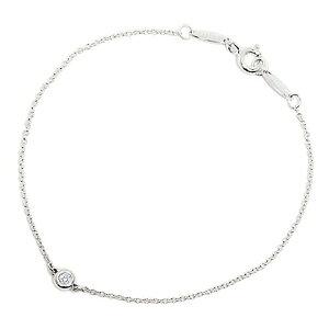 新品 TIFFANY(ティファニー)ティファニー レディス アクセサリー ダイヤモンド バイ ザ ヤード ブレスレット 0.05ct 7in24944352