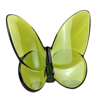 Baccarat Baccarat PAPILLON FIGURE papillon figure skating lucky butterfly ornament moss-green 2102547