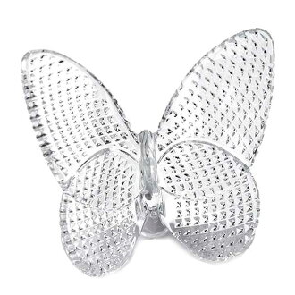 Baccarat Baccarat PAPILLON FIGURE papillon figure skating lucky butterfly ornament clear 2808496