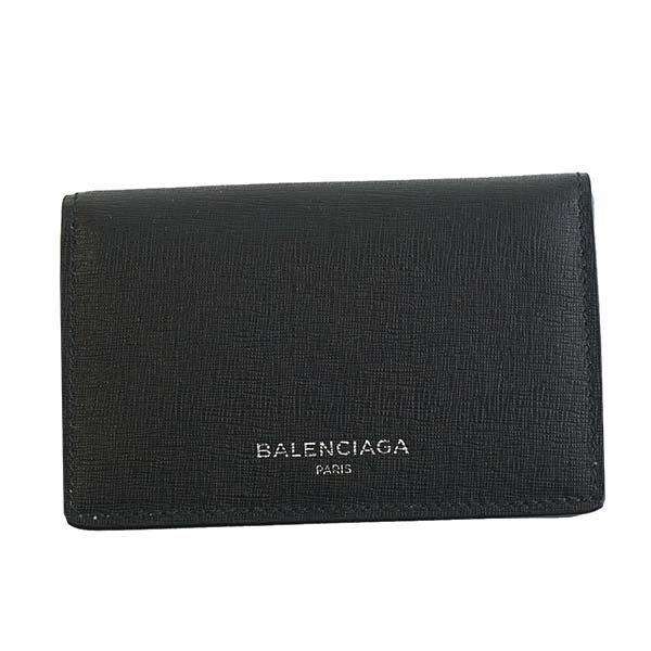 バレンシアガ BALENCIAGA カードケース 名刺入れ 440620 DLK0N 1000 CARD CASE NOIR ブラック