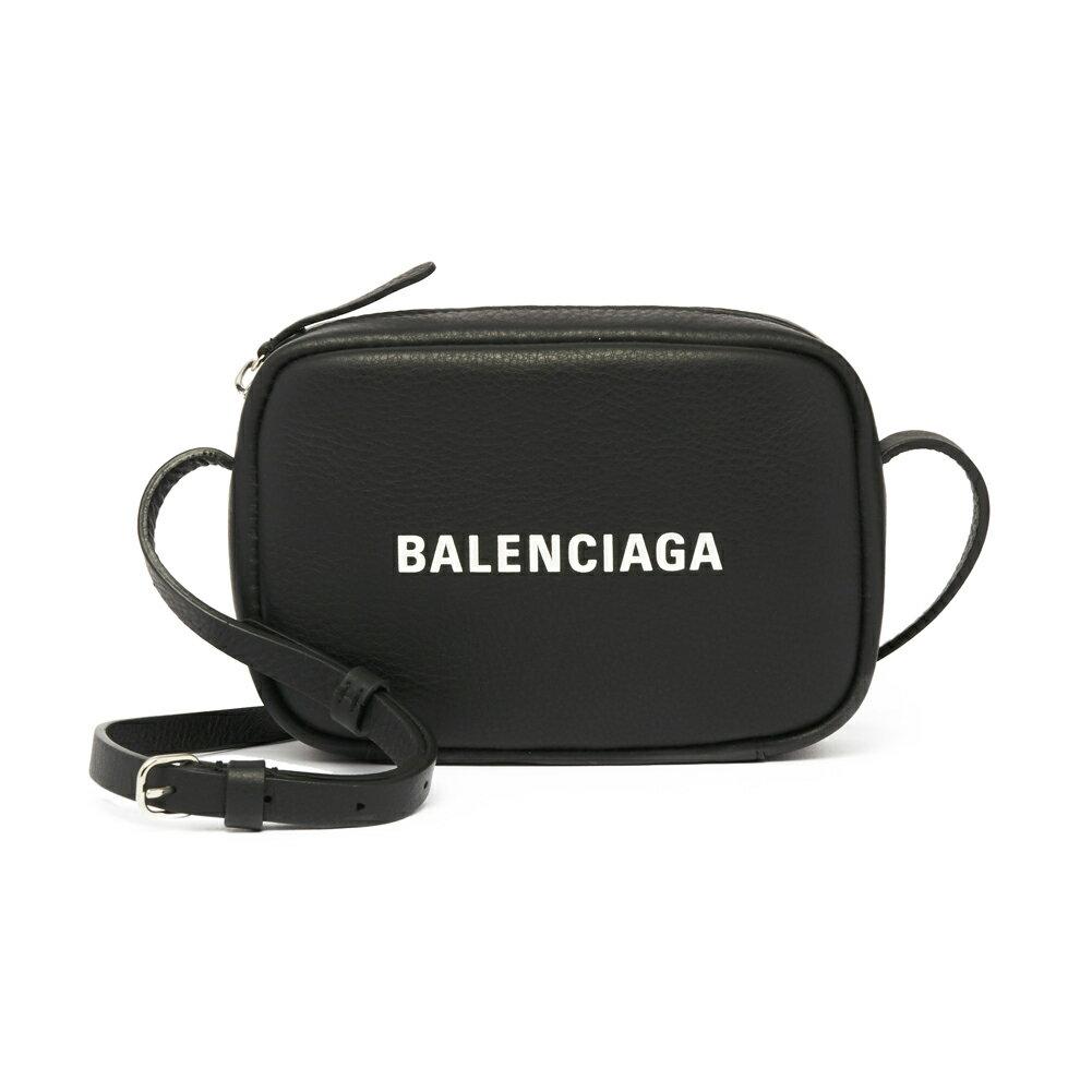 バレンシアガ BALENCIAGA ショルダーバッグ 斜めがけバッグ 489809 D6W2N 1000 EVERYDAY CAM BAG XS NOIR/L BLANC ブラック