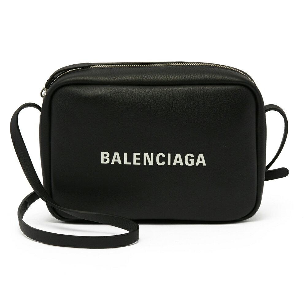 バレンシアガ BALENCIAGA ショルダーバッグ 斜めがけバッグ 489812 D6W2N 1000 EVERYDAY CAM BAG S NOIR/L BLANC ブラック