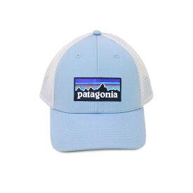パタゴニア P-6 LOGO LOPRO TRUCKER HAT メッシュ キャップ 帽子 38283 BSBL ライトブルー