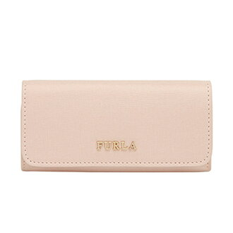 FURLA フルラキーケース 817167 RJ09 BABYLON KEYCASE LUNGO バビロンランゴ six key case MAGNOLIA light pink lady's birthday memorial day Christmas white day new article regular article for women