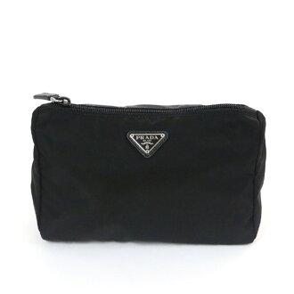普拉达 (prada) 普拉达 (prada) 袋 1N0011 ZMX F0002 尼龙 Nero 多媒体套装 NERO 黑 + 银