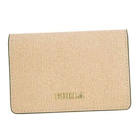 32ec6ba9c956 フルラ FURLA 名刺入れ カードケース BABYLON S BUSINESS CARD CASE バビロン MOONSTONE ライトピンク系  PS04
